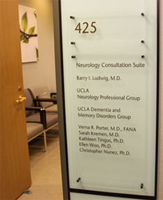 "UCLA Memory Disorders Clinic"" width=""205px"